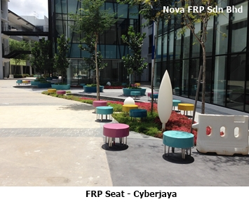frp outdoor seat