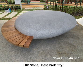 frp outdoor stone